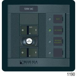 Panel 360 120VAC 5pos with ELCI Main 30A FR