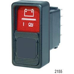 Switch Contura SPDT ON / ON Red, Guard