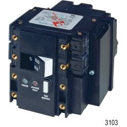 Triple Pole Residual Current Circuit Breaker - ELCI, ELCI 120VAC 30A 2 Pole 30mA Toggle