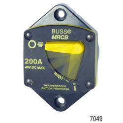 Series 187 Panel Mount Thermal Circuit Breaker, 30A