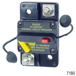 285-Series Thermal Circuit Breaker - Surface Mount, 25A
