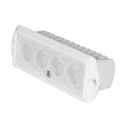 CAPRI LED FLOOD LIGHT FLUSH MT WHT