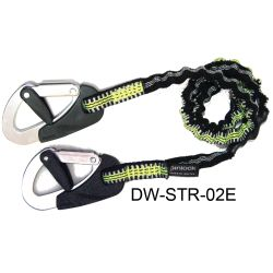 2M RACE 2 CLIP SAFETY LINE ELASTICIZED
