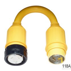 50A 125/250V(F) TO 50A 125V(M) ADAPTER