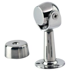 STAINLESS MAGNETIC DOOR STOP TALL