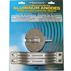 Yamaha 150-200HP Counter Rot Anode Kit Aluminum