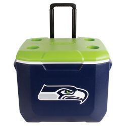 Discontinued: Seattle Seahawks 60qt Wheeled Cooler