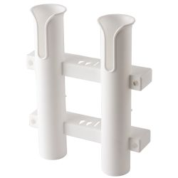 WHT 2POLE ROD HOLDER VERT MT