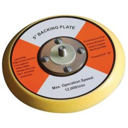 "Replacement 5"" Dual Action Polisher Backing Plate"