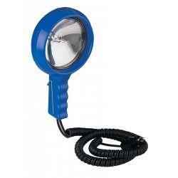 Lightweight Hand Held Spot Light - 24V, Blue