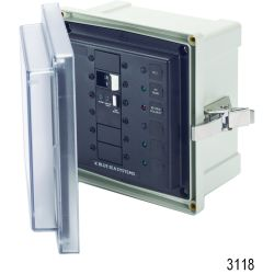Blue Sea Isolator Surface Mount System Panel Enclosures