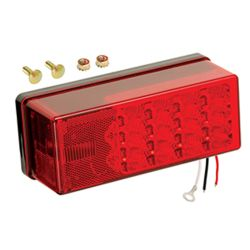 "3"" x 8"" Low Profile LED Trailer Lights"