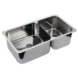 "Double Rectangle Sink 23"" Wide"