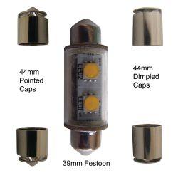 Nav Bulb - 36 to 44 mm LED Festoon - 2 NM
