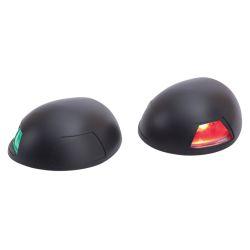 LED Top Mount Black Nylon Side Lights