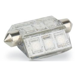 Nav Bulb - 9 LED Festoon - 10-30V DC, 42mm, 2 nm