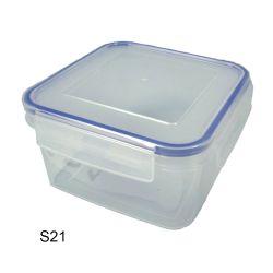 SQ BOX 6IN X 6IN X 3-3/8IN