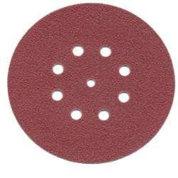 Discontinued: Hookit Dust-Free Fein Hole Pattern Red Discs - 316U