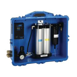 Portable Compressed Air Filter & Regulator Panel - with CO Monitor