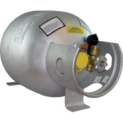 Horizontal Steel Propane Cylinder - 20 lb