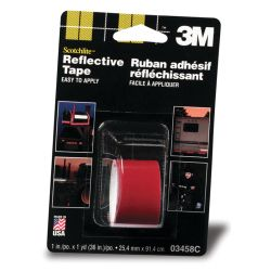 No Longer Available: Scotchlite Reflective Tape - Red