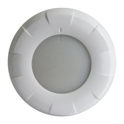 "Lumitec 4"" Aurora LED Dome Light - White Bezel"