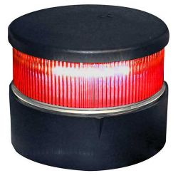 Aqua Signal Series 34 LED All-Round Navigation Light with Red Beam Black Housing