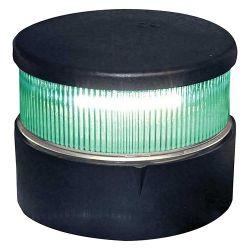 Aqua Signal Series 34 LED All-Round Navigation Light Green Beam Black Housing