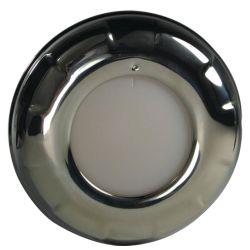 """4"""" Aurora LED Dome Light - Stainless Steel Bezel"""