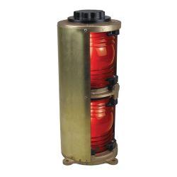 Figs. 1164-1168 - Cast Bronze Double Lens Commercial Navigation Lights
