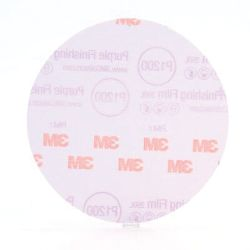 Hookit Purple Film Backed Finishing Discs - 260L