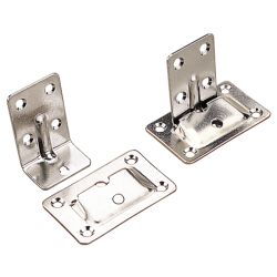 STAINLESS TABLE BRACKETS (SET)