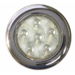 """TH Marine Supplies 4"""" Stainless LED Surface Mount Puck Light"""