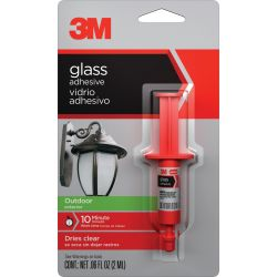 Discontinued: 18051 Glass Adhesive for Outdoor Use