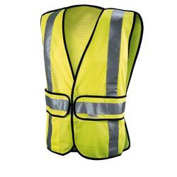 Construction Safety Vest - Hi-Viz Yellow