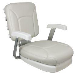White Ladder Back Seat