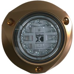"2800 Lumens 4"" SeaBlazeX LED Surface Mount Underwater Light"