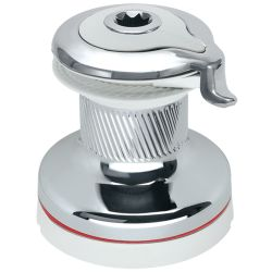 "Radial All-Chrome Single-Speed Self-Tailing ""White"" Winch"