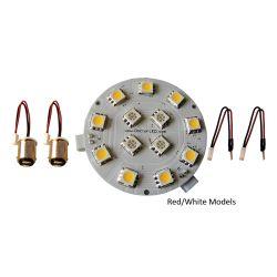 Dr LED Dome Light LED Conversion Kit - Warm White / Red Light