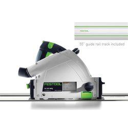 TS 55 REQ Corded Plunge Cut Track Saw Circular Saw