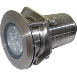 "1,500 Lumens 4"" Neptune X6 LED Thru-Hull Underwater Light"