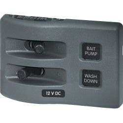 WeatherDeck 12V DC Waterproof Switch Panel