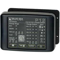 P12 Battery Charger LED Remote Panel