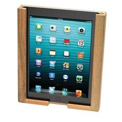 in use of Whitecap Industries Teak iPad Holder