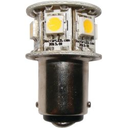 Nav Bulb - Hex GE90 DC Bayonet Bulb - White - 2 nm
