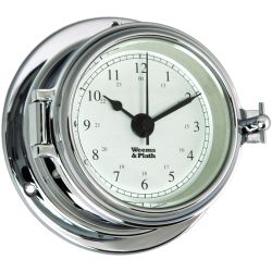 Endurance II 105 Quartz Clock - Chrome
