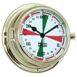 Endurance II 135 Radio Room Quartz Clock - Brass