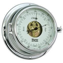 Endurance II 135 Open Dial Chrome Barometer - Chrome