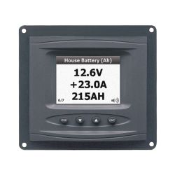 BEP Marine DCM Panel Mount Systems Monitor