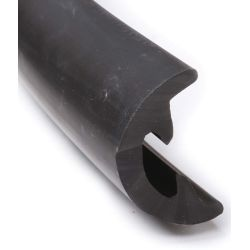 Radial Rub Rail - Soft External Cover - Black